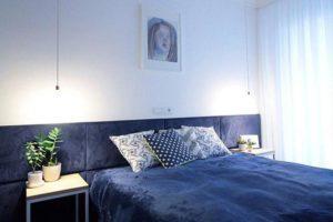 Granatowa sypialnia – czy to jest dobry pomysł?