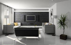 Pokój biało szary – jakie dodatki do niego będą pasowały?