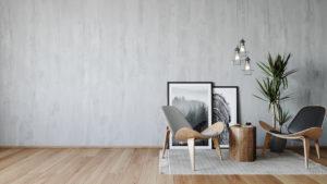Farba imitująca beton – efekt pięknego betonu na ścianach