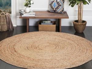 Dywan okrągły – oryginalne pomysły na dekorację podłogi