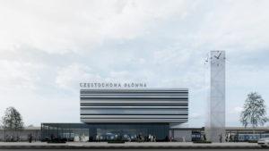 Nowy Dworzec Częstochowa Główna – jak będzie wyglądał?
